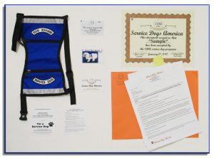 SDA Service Dog ID Kit