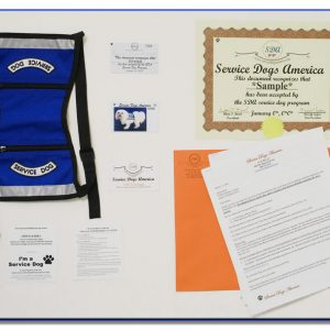 SDA Service Dog ID Kit